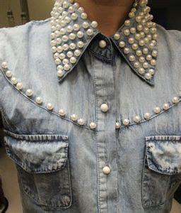 como decorar jeans con pedreria picture of chaleco en jean con aplique de pedrer 237 a