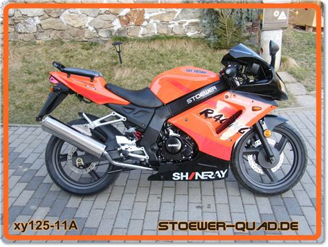 Motorrad 125 Supersportler by Motorrad Stoewer Shineray Xy125 11a Stoewer Quad