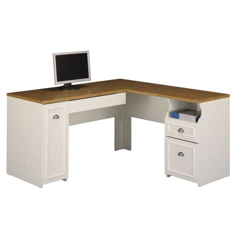 Gorgeous L Shaped Computer Desk With Hutch On White Black Black White Desk