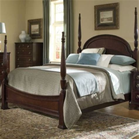 broyhill furniture lenora poster bed bedroom set queen or broyhill carson manor drawer chest mirror mahogany