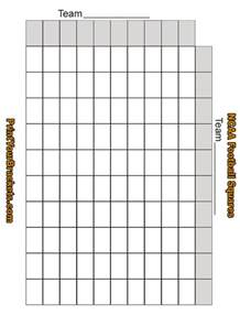 bowl grid template football squares template out of darkness