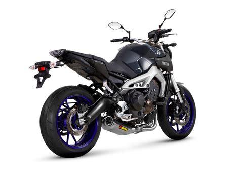 Motorrad Tuning Yamaha Mt 09 by Akrapovic Yamaha Mt 09 Motorrad News