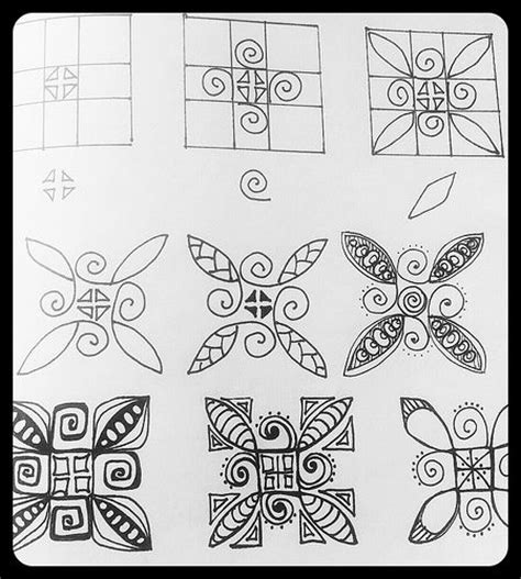 zentangle pattern library 1000 best images about zentangle on pinterest doodle