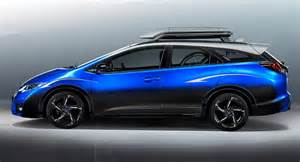 Honda Civic Concept Honda S Civic Tourer Active Concept Is For Cycling