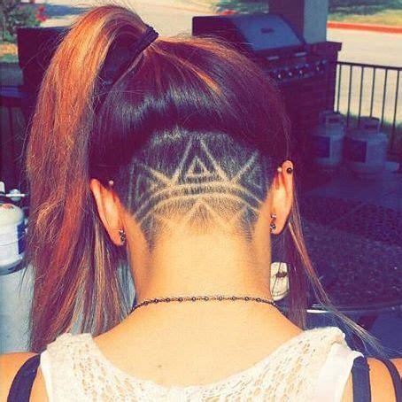 aztec hair style shave aztec unique hair style back shave