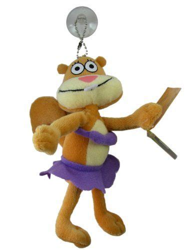 amazoncom sandy squirrel stuffed animal spongebob