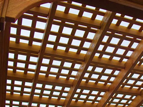 wooden pergolas pressure treated pine pergolas