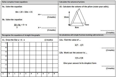 free printable english worksheets ks4 gcse maths worksheet 3 maths gcse pinterest maths