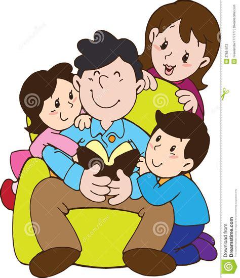 imagenes animadas de amor en familia el d 237 a de padre con la familia del amor stock de