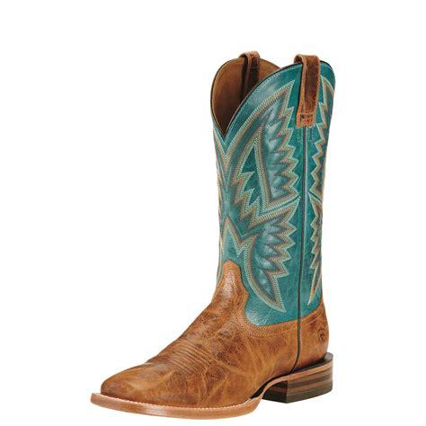 western cowboy boots ariat s hesston western boots 678938 cowboy