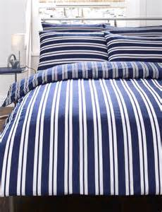 Navy And White Striped Quilt by Navy Blue King Duvet Quilt Cover Throw Bed Set Ebay