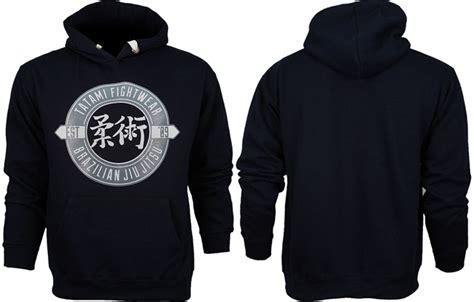 Sweater Hoodie Evil Corp Navy Front Logo tatami bjj monogram hoodie
