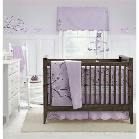 lavender nursery bedding white and lavender nursery baby stuff pinterest