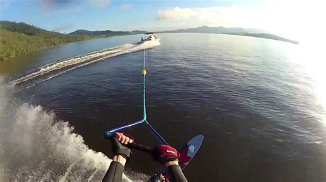 boat r at somerset dam gopro easter holiday waterskiing on somerset dam youtube