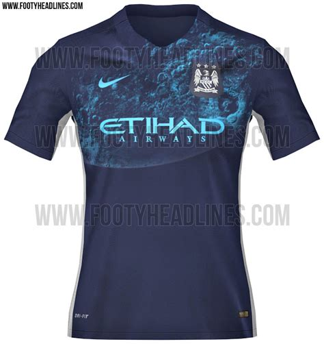 Baju Bola Manchester City Leaked New Manchester City Kit Literally Features A Blue