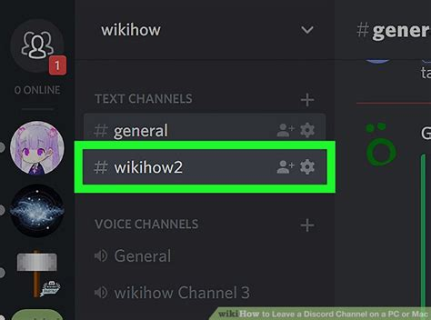 discord channel how to leave a discord channel on a pc or mac 10 steps