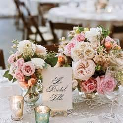Square Centerpiece Vases Romantic Vintage Wedding Table Centerpiece Wedding Table
