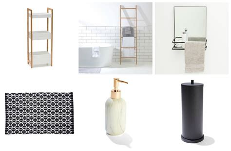 bathroom styling cheap and chic bathroom accessories and storage from kmart