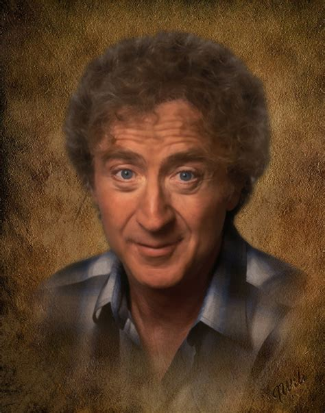 gene wilder funeral in memory of gene wilder memorial portraits custom