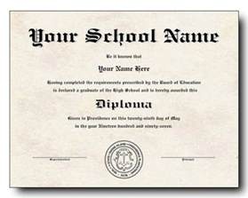 Free Printable High School Diploma Templates by High School Diploma Template Printable Certificate
