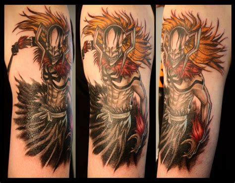 anime sleeve tattoo 25 amazing anime tattoos tattoos inkdoneright