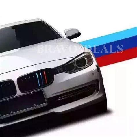 Motorhaube Aufkleber Bmw by M Colored Auto Streifen Stripes Flagge Aufkleber Sticker