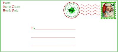 printable envelope from north pole crafty this and that 2008 north pole cancellation st