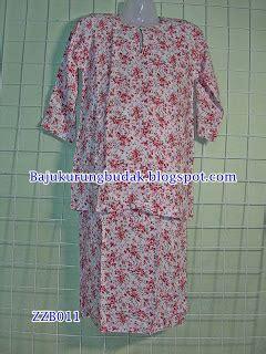 Upah Baju Melayu Budak zzb011 baju kurung budak baju kurung budak