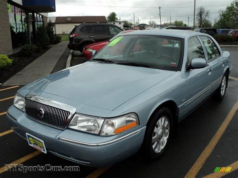 The Light Ls by 2005 Mercury Grand Marquis Ls In Light Blue Metallic