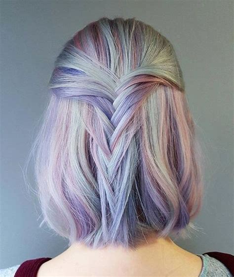 colorful short hair styles 10 unique and desirable pastel hair ideas stylish hair