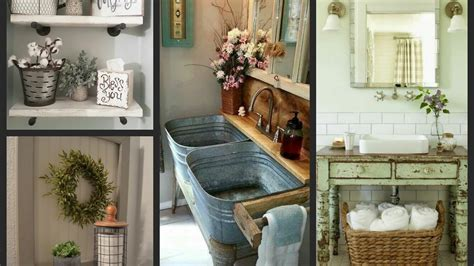 rustic farmhouse bathroom rustic wood bathroom ideas decorating idea awesome