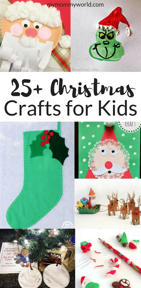 25 christmas crafts for kids my mommy world