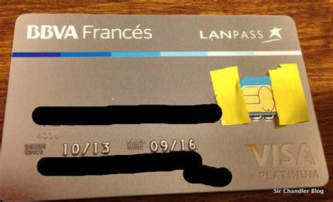 banco frances el banco franc 233 s tambi 233 n comenz 243 a mandar las visa con