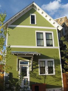 green exterior paint home improvement