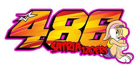gambar desain nomer star desain stiker racing untuk nomor start balap decodeko