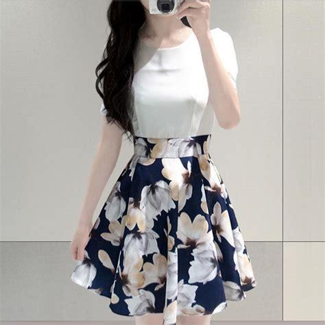 Aksesoris Necklacekalung Fashion Wanita Flower White dress wanita big flower korean style dress size m white jakartanotebook