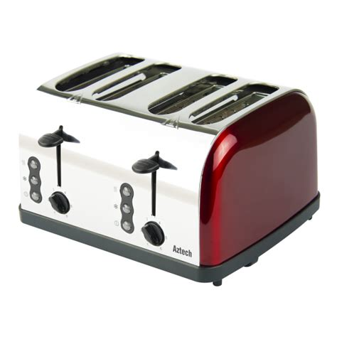Toaster Lazada aztech abt3640 burgundy series bread toaster lazada singapore