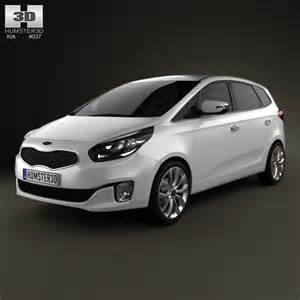 kia carens rondo 2013 3d model hum3d