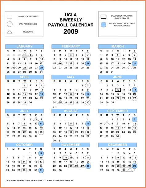 biweekly payroll calendar  printable calendar