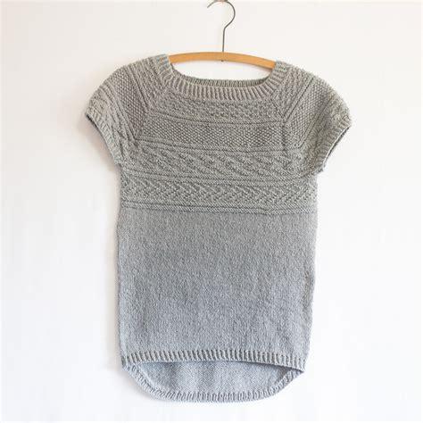 knitting patterns summer tops battersea free pattern knitbug