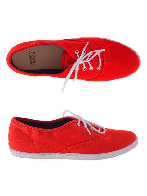 american apparel shoes american apparel unisex tennis shoe style steward