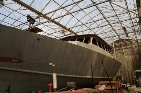 catamaran unfinished project 2013 custom staysail schooner nils lucander design sail