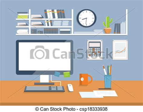 bureau clipart office design clipart 74