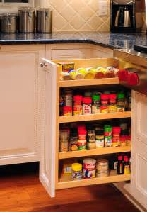 why your kitchen needs a spice cabinet interior