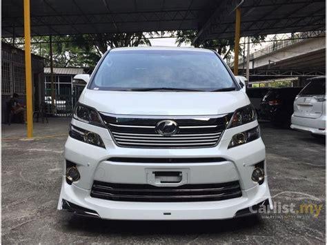 Toyota Dealership Ta Toyota Vellfire 2014 Z 2 4 In Kuala Lumpur Automatic Mpv