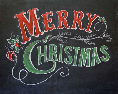 25 best ideas about christmas chalkboard art on pinterest