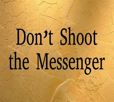 don t shoot the trainer 2 0 books don t shoot the messenger
