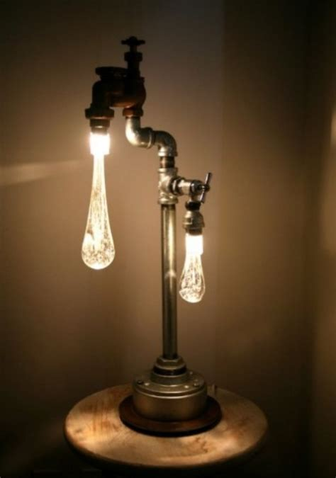 lamps  industrial  retro style   recycled