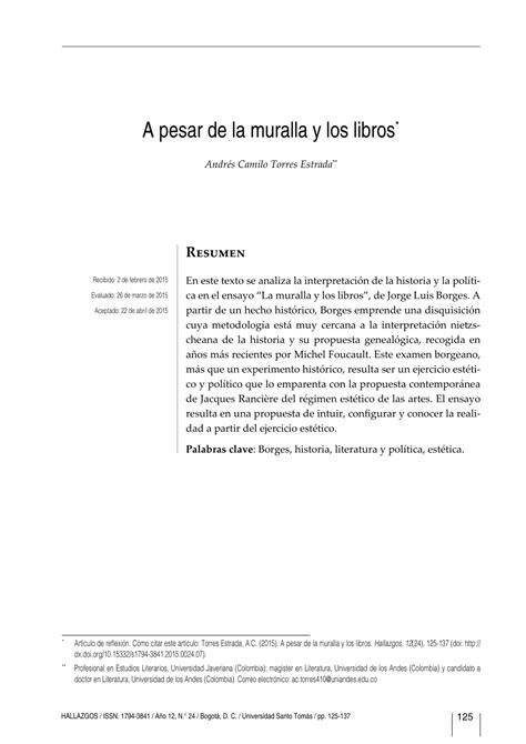 pdf libro de texto una propuesta sospechosa suspicious pdf a pesar de la muralla y los libros