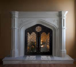 mantel decor arched fireplace mantel design ideas for classic house interior ideas